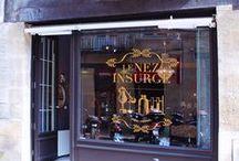 L'univers de la boutique / Le Nez Insurgé
