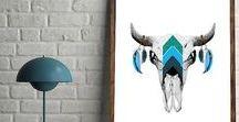 Desert Decor, Aztec Decor, Instant Digital Downloads / Digital Downloads of Desert Wall Art