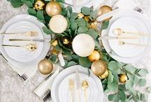 Winter Dinner Party: January 2018 Round-Up / Here's a nice wide selection of excellent Pins for helping to plan your next winter dinner party.  I'll be doing my signature SITES analysis of my favorites over on the blog for the January 2018 Monthly Round-Up.