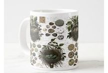 Mugs for Bird Lovers / Bird watchers have to get up early in the morning, so what better gift than a bird-themed coffee mug that helps them wake up and commune with their feathered friends? (This pin contains an affiliate link. That means that, at no additional cost to you, I may earn a small commission if you make a purchase through this link.)