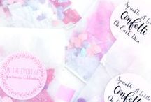 Confetti / Party confetti to DIY and party with!