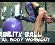 Ball and Bosu Workout