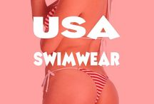 USA Swimwear / Check out our board of awesome USA Flag swimwear for men and women.