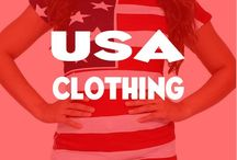 USA Flag Clothing for Men and Women / Check out our board of awesome USA Flag clothes for men and women.