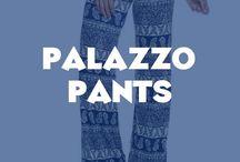 Palazzo Pants / Beautiful and stylish collection of palazzo pants.