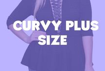 Curvy Plus Size / Chic fashionable items for the sexy curvy woman.