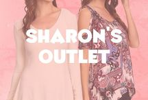 Women's Fashion Sharon's Outlet / Sharon's Outlet  has the most sophisticated yet practical line of lovely fashion for a night on the town, casual day,  or professional at work.