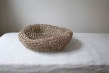 baskets & bags / baskets, bags, purses, sac, things we carry, leather, woven, natural, cotton, fiber, seagrass, jute