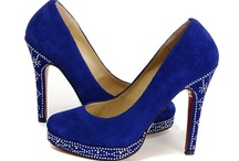 Blue Suede Shoes / Which one of these blue suede shoes do you think Elvis would have liked?