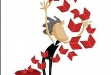 Carteles del Día del libro  Book Day posters / Colección de carteles del Día del libro.