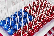 4th of July food and decorating