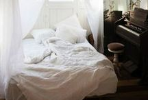 BED. / I wish I did all my dreaming here. / by Priscilla Fairchild