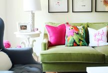 Dream Interiors / Dreamy interior inspiration. Light and airy living rooms, clean and bright bathrooms. Neutral kitchens scattered with pops of colour.