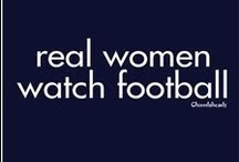 Ladies and Football / Pins for those ladies who really LOVE football by women who really KNOW football. #football #sports #NFL