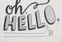 Typography / Lettering, calligraphy, hand lettering, tutorials, fonts, design and quips! All designed to get you thinking!