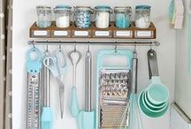 Kitschen (A Collection of Vintage and Kitsch Kitchen Gear) / Manjari Arts loves retro. / by Dominate: Creativity Consulting
