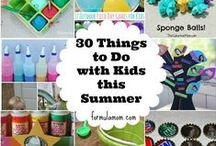 Summer Time! (Activites, Recipes, etc!) / Looking for things to do with the kids this summer? Check out my collection of activities, food recipes, and crafts to beat the summer boredom blues! / by Mariah Moon - Formula: Mom