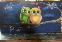 Owls!!! / All things OWL - pictures, art, crafts...