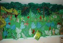 Classroom Jungle Theme