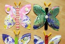 Paper Plates Gone Wild / Paper plate crafts for kids including paper plate alphabet crafts and animals! Easy craft ideas for toddlers and preschoolers! DIY holiday craft ideas too! / by Mariah Moon - Formula: Mom