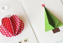 Christmas cards to make / Inspiration for creating DIY Christmas cards