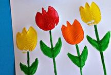 Spring Has Sprung! / Spring crafts for kids and spring activities for toddlers, preschoolers, and older kids. Ideas include rainbow cake, flower crafts, and even things to do over Spring Break! Keep your kids busy as the weather warms up! Oh, and we've got rainy day activities for kids too!  / by Mariah Moon - Formula: Mom