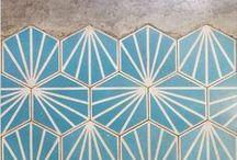 Tile Tales / Tile inspiration for bathroom, hallway, kitchen and beyond!