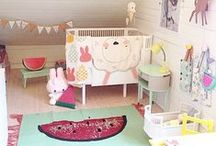 Hip nurseries / So many cute decorating and organizing things to buy or do yourself! Such little time!