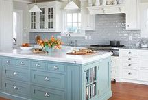 Kitchen Design Ideas / All the design inspiration you need to get started with re-modelling your kitchen.