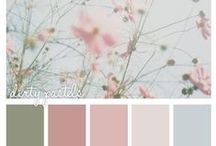 Kitchen Colour Palette Ideas / Not sure what colour scheme to use in your kitchen? Here are a few ideas.