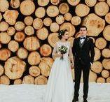 zimowy ślub, wesele i plener zdjęciowy / Inspiracje dotyczące organizacji zimowej ceremonii