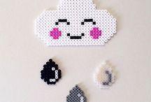 Strijkkralen DIY / Hama beads