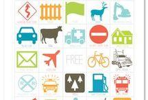 Autospelletjes voor onderweg (vakantie) / Een verzameling van de leukste printables voor spelletjes voor in de auto. Denk aan autobingo met nummerborden, auto merken, verkeersborden etc. Leuk voor jong en oud!