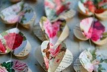 Papierliefde / Paper crafts DIY / Hier kan je ideetjes en inspiratie vinden voor knutselen met papier.