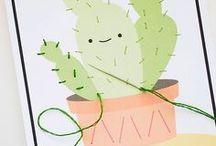 Cactus / Ben je ook gek op cactussen? Dan vind je dit bord te gek! Een verzameling van allerlei cactus woondecoratie, prints en DIY's.