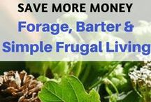 Frugal Living / Tips and tricks to frugal living. Reduce your cost of living and save money with these frugal living ideas.