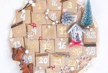 Aftelkalenders / Advent calender / Een verzameling van ideetjes voor een DIY advent kalender.
