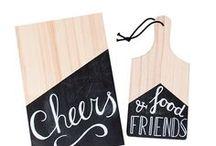 Schoolbordverf DIY / Chalkpaint DIY / Tutorials en voorbeelden voor het maken van DIY's met schoolbordverf.