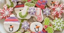 Christmas Cookies / Discover Christmas Cookies to make and give at Christmas Inc.  Visit our delicious recipes here: http://christmas-inc.com/christmas-cookies-to-make/