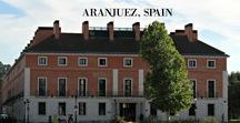 NH Collection Hotel- Palacio de Aranjuez / Fab hotel with the BEST location. It is right across from the spring residence (PALACE) of the Spanish royal family from the time of Philip II to the 19th century.