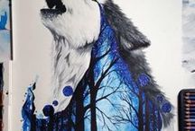 wolfs and stb / draving