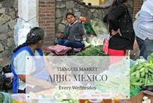 Tianguis Market in Ajijic Mexico / The weekly Wednesday market in Ajijic, Mexico