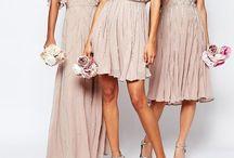 Bridesmaid Dresses Nude