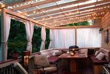 Garden & Patio / Awesome ideas and inspiration for back yard builds, gardens, design, materials / by Tira S