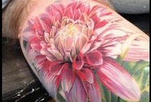 Tattoo Flowers Trees Plants Fruit / by Tira S