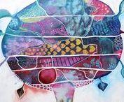 Belinda Lindhardt's Art / Australian artist Belinda Lindhardt creates realistic, modern and inspiration art & illustrations for creative hardt studio. www.creativehardt.com.au