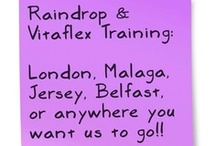 Raindrop Training Europe - Young Living  / Details of Raindrop Technique training in Europe - and the fantastic therapeutic essential oils produced by Young Living.