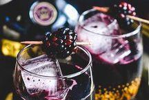 cheers! / Sangria, mojitos, wine, bourbon, boozes of all kind!