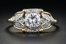 vintage rings / True Beauties!  / by Dee Anne Burnett