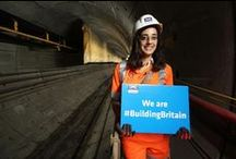 "We're #BuildingBritain / Jobs and growth are being created by Britain's manufacturers and constructors. From micro-electronics to major infrastructure projects, exciting schemes are bringing massive benefits to the economy.  Take a picture with a ""We are #BuildingBritain"" sign, and tweet using #BuildingBritain"". We'll feature the best on this board.   / by UK Prime Minister"